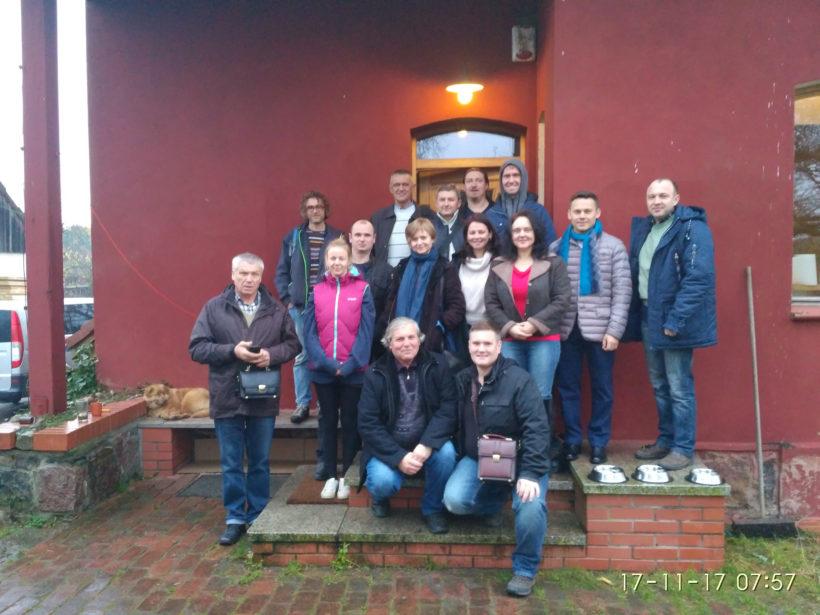 Візит «Екотерри» на біодинамічне господарство Juhowo Farm у Польщі