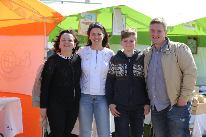Ярмарок органічної та фермерської продукції  AGROPORT WEST LVIV 2018